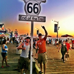 Route 66 - The End!