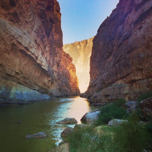 Santa Elena Canyon - Big Bend