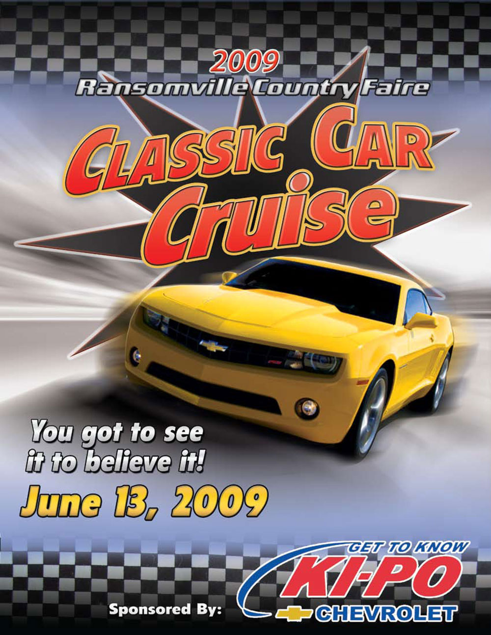 Car Show Flyer BrianDeFreescom - Blank car show flyer